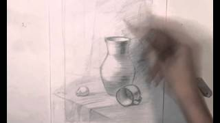 Уроки рисования | Как нарисовать натюрморт