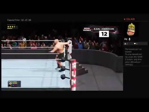 (Wwe2k20) If Edge Was First And Not Brock