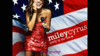 Miley Cyrus- Party in the USA