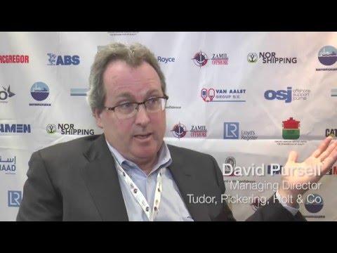 David Pursell, Tudor, Pickering, Holt & Co speaks to OSJ editor David Foxwell