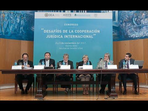 Panel: Cooperación internacional para el fortalecimiento institucional - Congreso Desafíos de la Cooperación Jurídica Internacional
