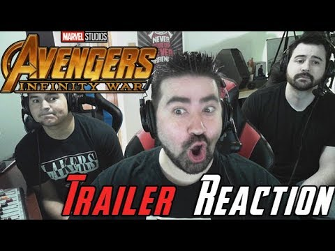 Infinity War Angry Trailer Reaction