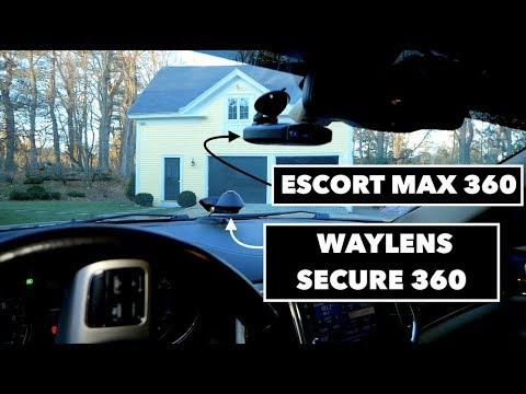 Waylens Secure360 & Escort Max 360 Hardwire // 2011 Grand Cherokee