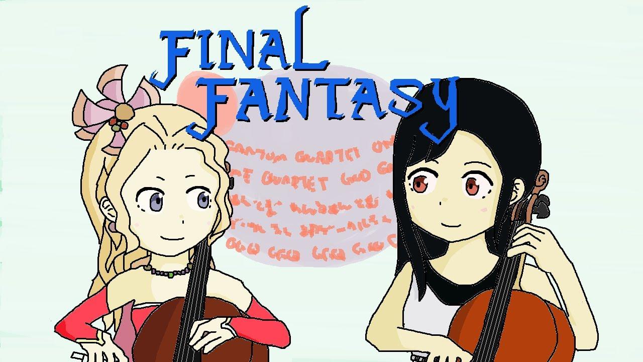 【弦楽二重奏】One Phantom Quartet & GGQ :ファイナルファンタジーメドレー / FINAL FANTASY Medley