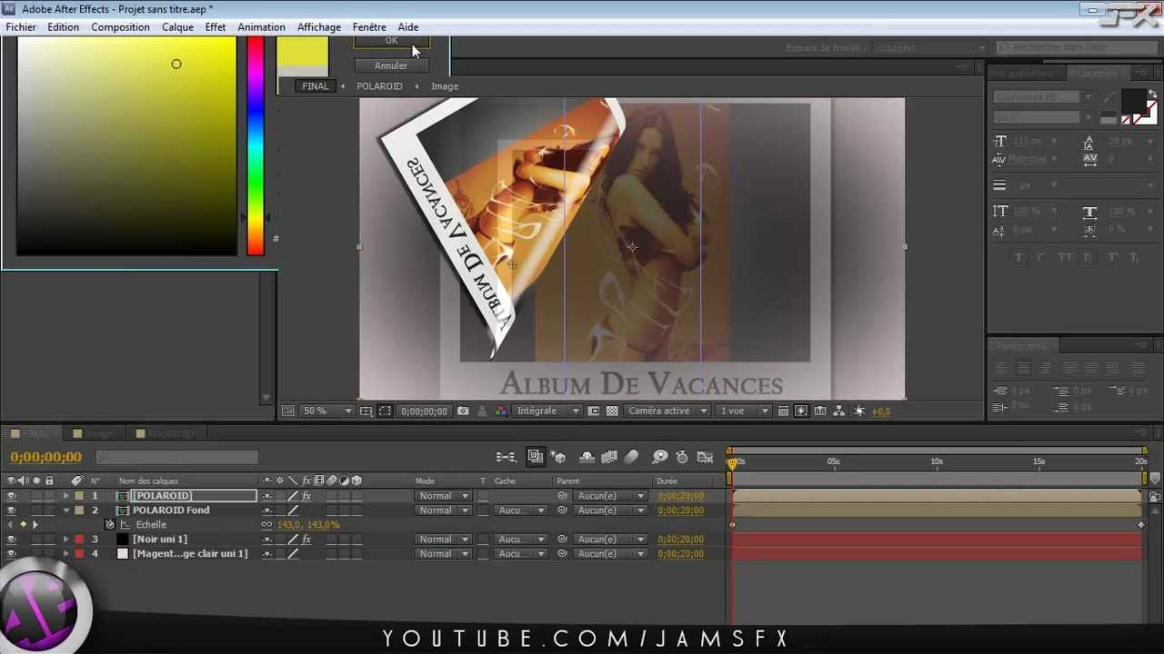 projet after effect cs5 gratuit
