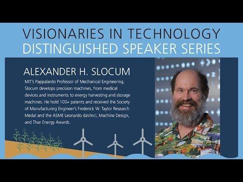 Dartmouth's Visionaries in Technology: Alexander Slocum