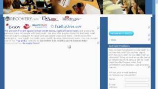 Get American Bad Credit Debt Relief Loans Videos