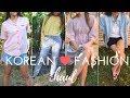 korean fashion haul/lookbook | mixxmix