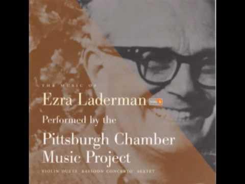 EZRA LADERMAN: Bassoon Concerto - Move. II, Andante con moto