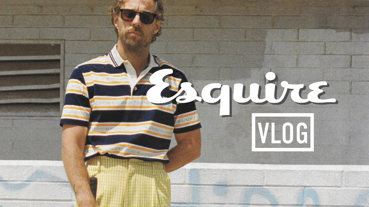 Behind the Scenes of an Esquire Photoshoot