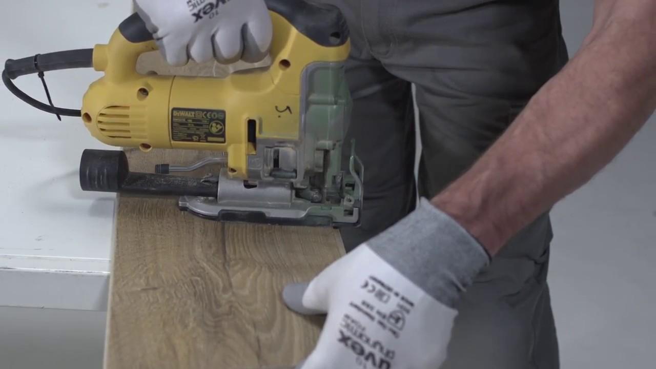 Pergo posa pavimento in laminato come tagliare le doghe youtube