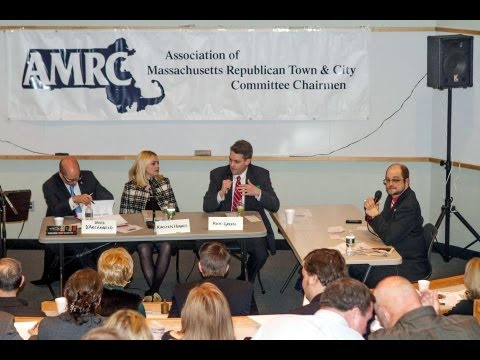 Massachusetts Republican Party Chair Debate ~ 1-17-13.  By: The Valley Patriot Newspaper