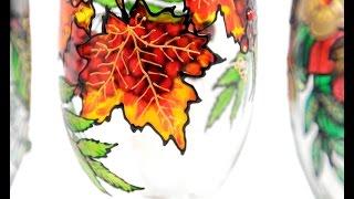 Cómo pintar en vidrio