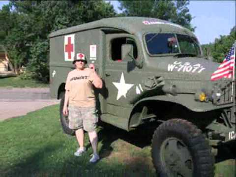 1941 Dodge Wc 9 Ambulance Youtube