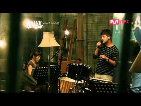 Lasse Lindh Sings C'mon Through On Korean TV (라세 린드 C'mon Through)