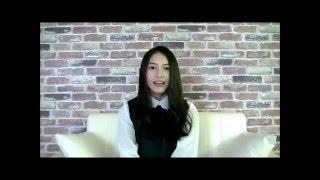 NTTドコモのCM iPhone・iPad「感情のすべて」にご出演されている久保田紗友さんにタレントデータバンクが直撃インタビュー! インタビューの...