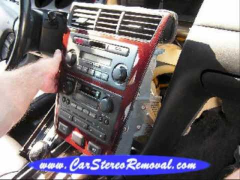 Acura RL Car Audio - Car Stereo Removal - YouTube