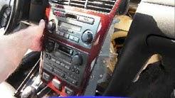 Acura RL Car Audio - Car Stereo Removal
