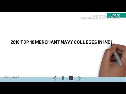 TOP 10 Merchant Navy colleges in India 2018