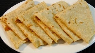 How to make roti / chapati / poli (Layered roti)