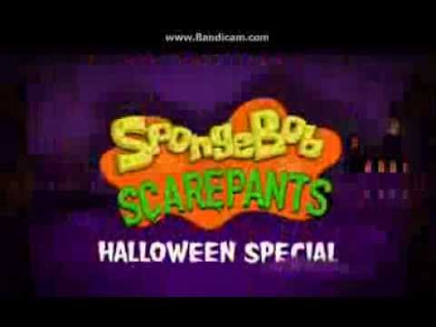 SpongeBob SquarePants Halloween Special promo - YouTube