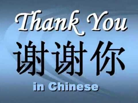 Image result for thank you in chinese writing