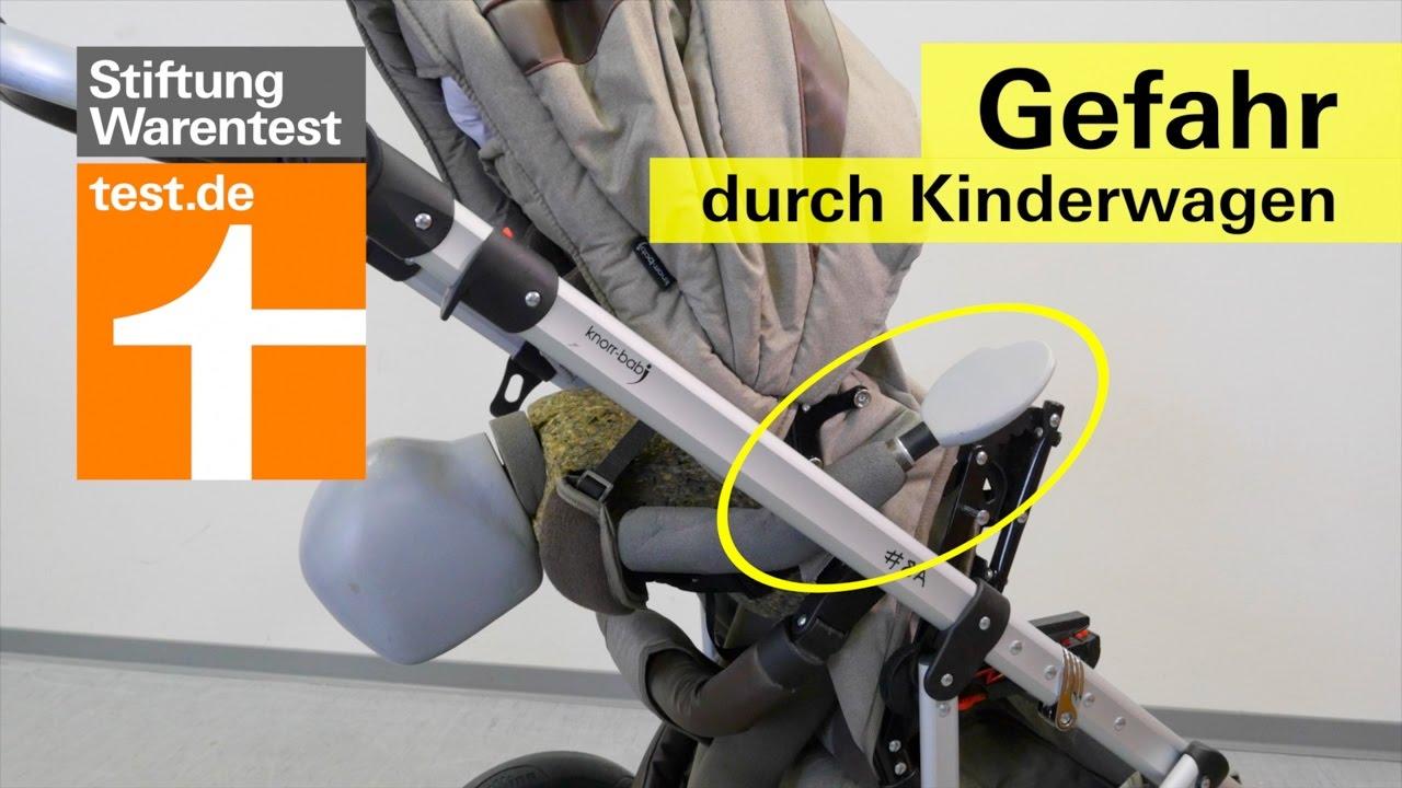kippgefahr bei kinderwagen von knorr baby vorab info kinderwagen test youtube. Black Bedroom Furniture Sets. Home Design Ideas