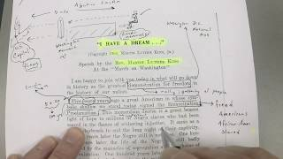 Martin Luther King: I Have A Dream: Textual Analysis