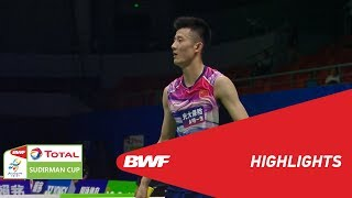 TOTAL BWF SUDIRMAN CUP 2019 | MS | CHINA VS INDIA | BWF 2019