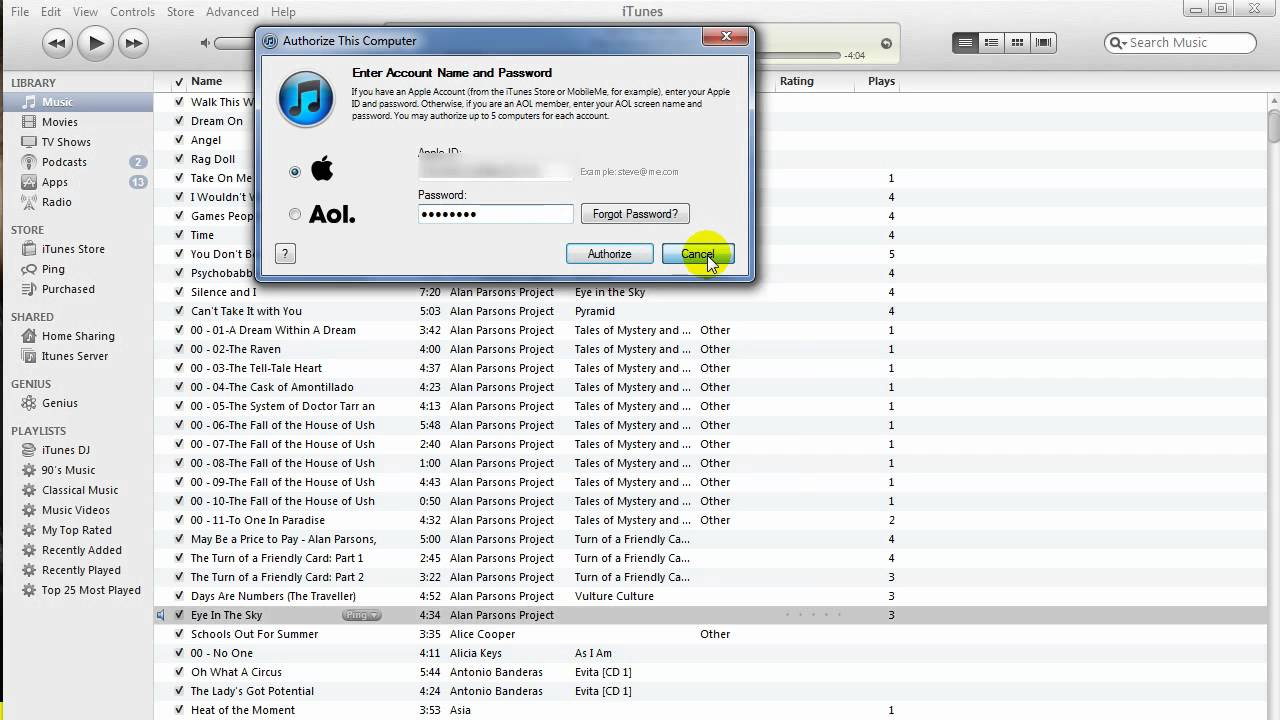 how to make a playlist on itunes computer