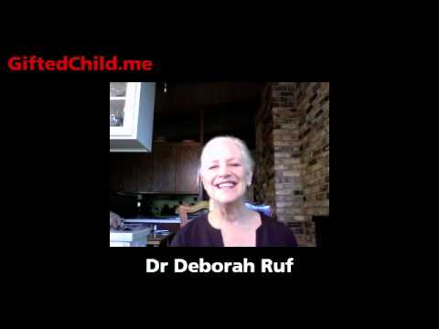 Gifted child assessment and 5 levels of gifted: Dr Deborah Ruf interview