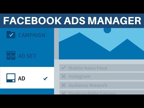FACEBOOK ADS MANAGER Tutorial (2019)