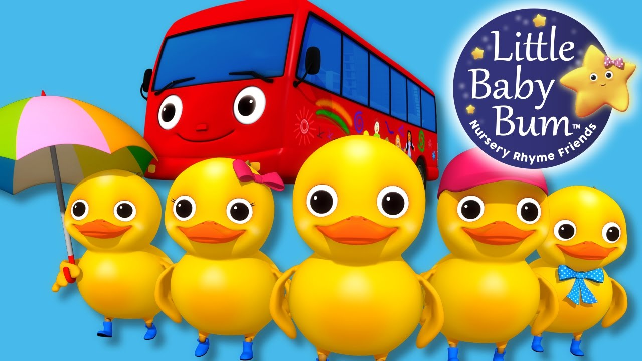 Download Learn with Little Baby Bum | Five Little Ducks on a Bus | Nursery Rhymes for Babies | Songs for Kids
