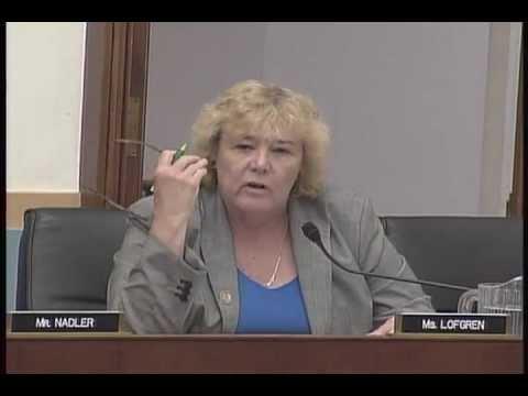 Rep. Zoe Lofgren on Cloud Computing, Data Portability & Consumer Protections