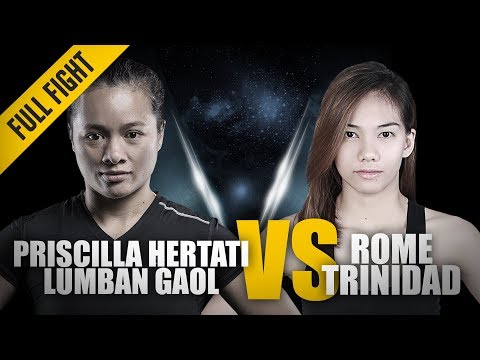 ONE: Full Fight | Priscilla Hertati Lumban Gaol vs. Rome Trinidad | Glorious Guillotine | May 2018 Mp3