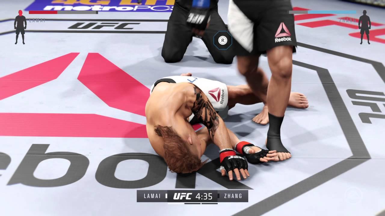 EA SPORTS UFC 2: Capoeira kick - YouTube