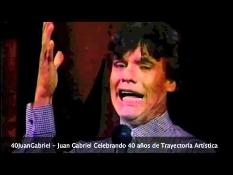 Juan Gabriel - Jamás me cansaré de ti & Te llegará mi olvido & Ya no vuelvo a molestarte