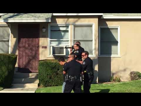 Locked out of apartment. Burbank PD responds with rifles.