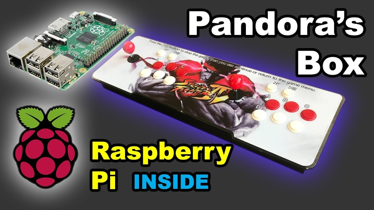Raspberry Pi Inside Pandora's Box Arcade SuperGun System: 9