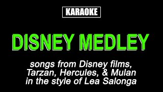Songs included: - go the distance from 'hercules' you'll be in my heart 'tarzan' reflection 'mulan' karaoke cover for entertainment purposes on...