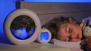 Kid Sleep Moon Alarm Clock Night