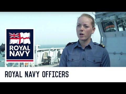 Royal Navy Officer - Junior Warfare Officer