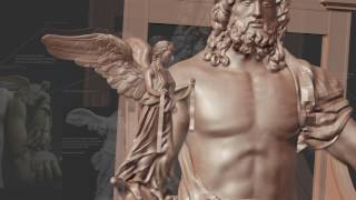 3D Printing of the Statue of Zeus at Olympia, Millennium Gate Museum