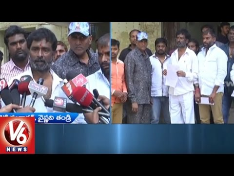 Vaishnavi Parents Approach HRC And Telangana Medical Council | Lodges Complaint On Hospital | V6News