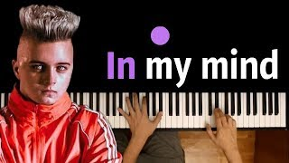 Dynoro - IN MY MIND ● караоке| PIANO_KARAOKE ● ᴴᴰ + НОТЫ & MIDI | ft. Gigi D'Agostino