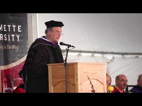 Robert Krulwich speaks at Willamette University