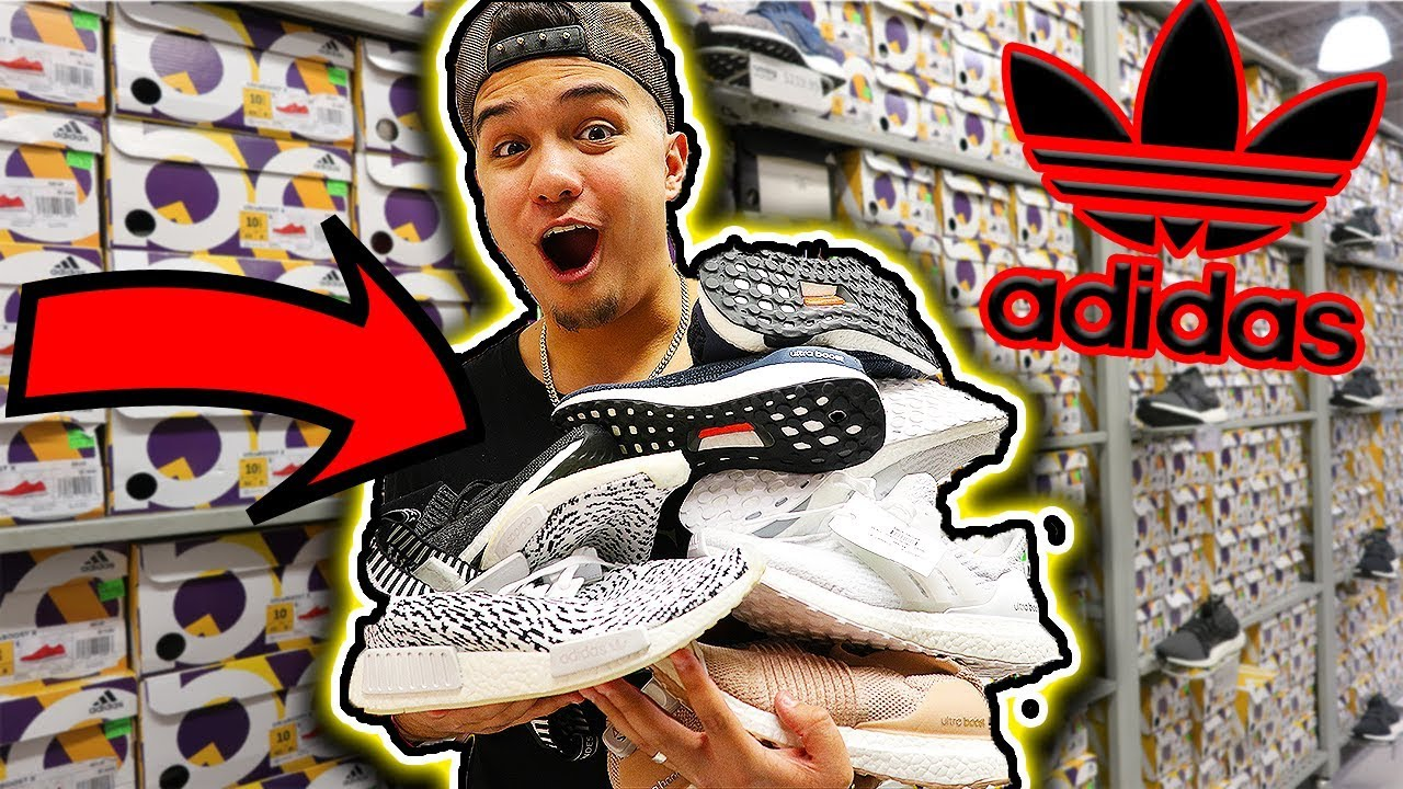 MASSIVE ADIDAS BOOST FINDS AT ADIDAS