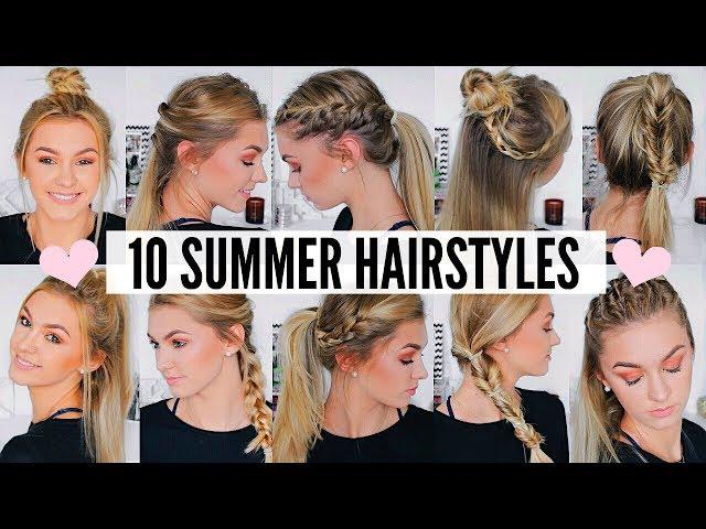 Cute Easy Summer Hairstyles 37