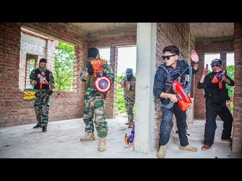 LTT Nerf War : SEAL X Warriors Nerf Guns Fight Attack criminal group