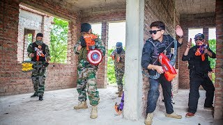 LTT Nerf War : SEAL X Warriors Nerf Guns Fight Attack criminal group